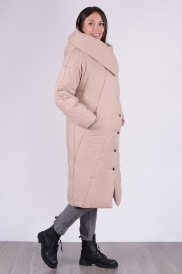Пальто зимнее 13693 беж