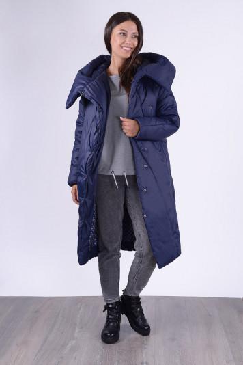Пальто зимнее 13693 синее