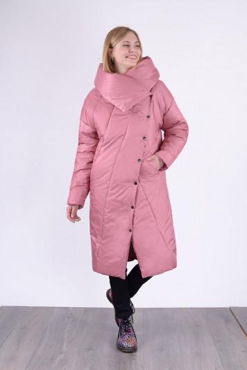 Пальто зимнее 13693 ягодное