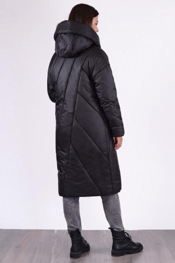 Пальто зимнее 13693 черное