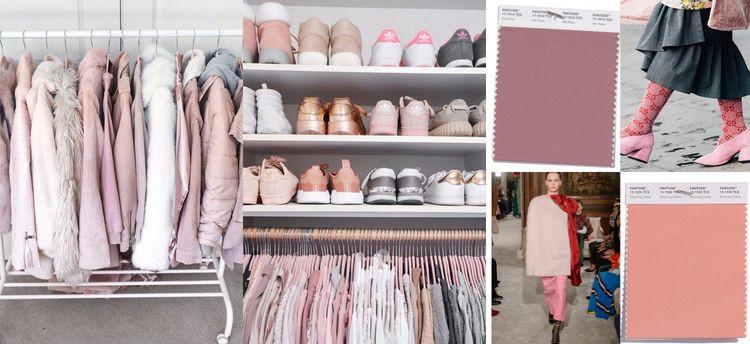 Модный цвет романтиков