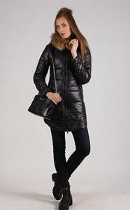 Всегда актуальная черная куртка с уютным мехом