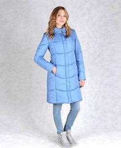 Удлиненная и приталенная модель зимней куртки