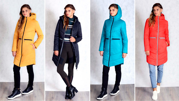 Куртки женские ТвинТип спорт-шик