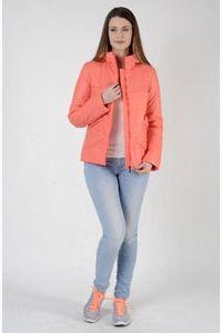 Куртка женская кораллового цвета
