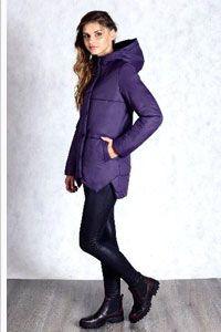 Куртка женская цвета черники