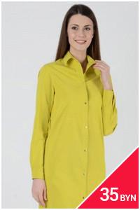 Солнечное платье-рубашка со скидкой