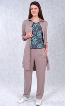 Стильная капсула одежды: брюки и платье-рубашка