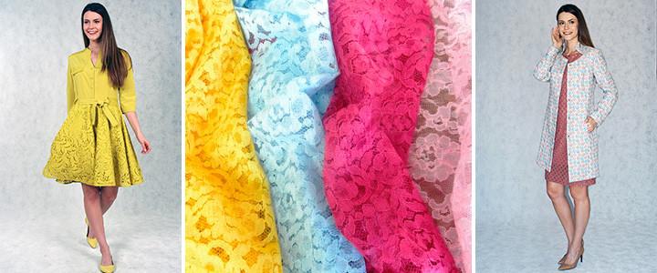 Платья с ажурным принтом от TwinMODA