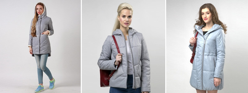 Строгий серый в пальто и куртках