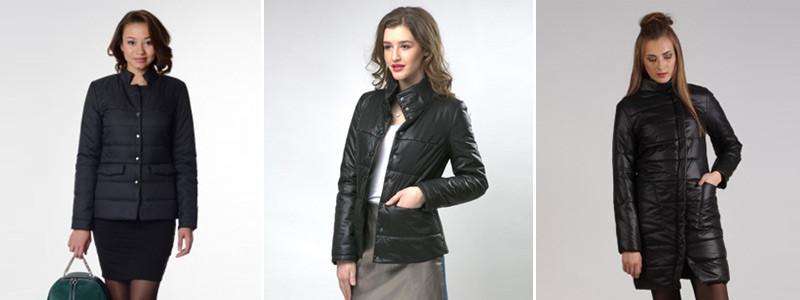 Куртки и пальто в стиле тотал черный лук