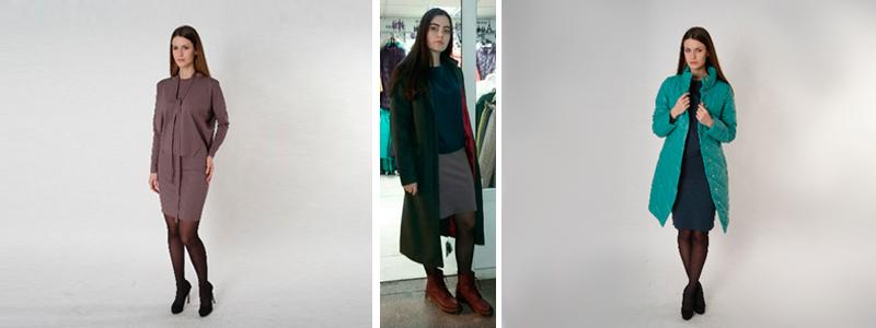 Коллекция МилаМОДА Весна 2017 в сочетании с плащами и куртками TwinTip