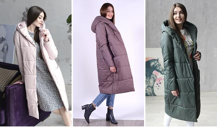 Пальто в стиле oversize