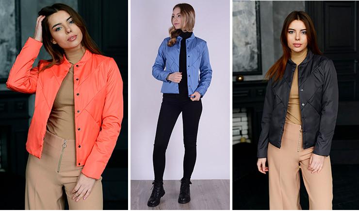 Короткая куртка женская 99593