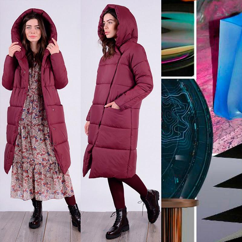 Женское пальто-одеяло