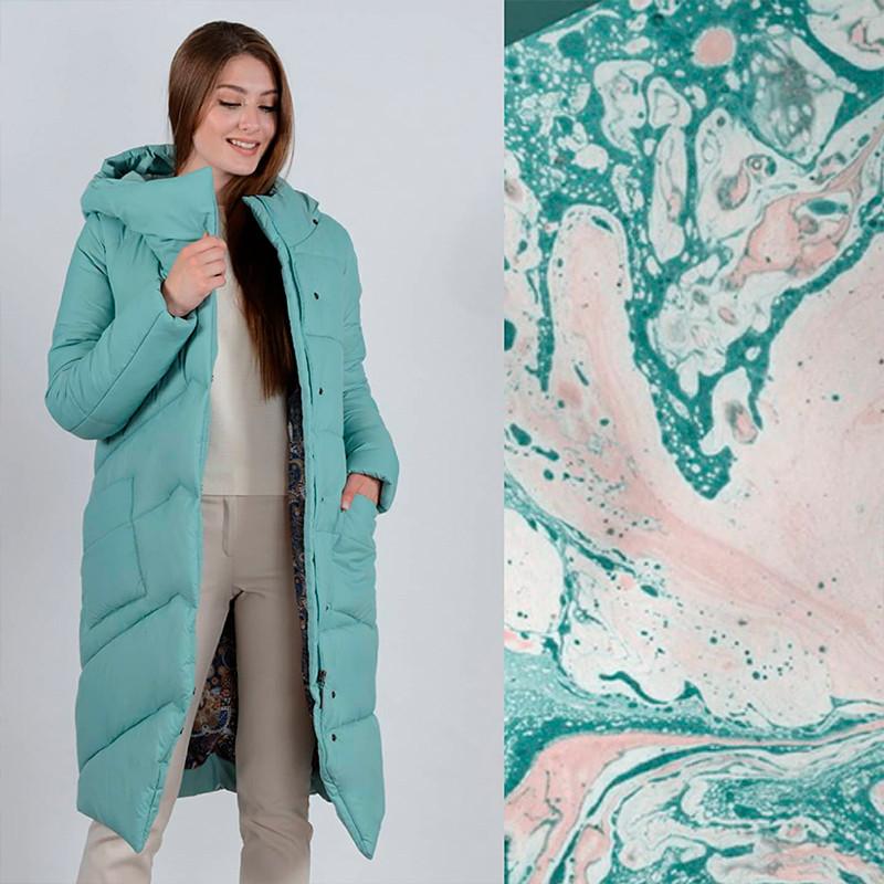 Пальто цвета мяты