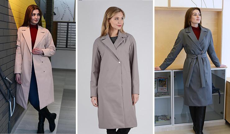 Легкое пальто 13656