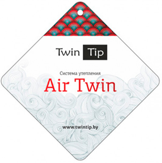 Утеплитель Air Twin в зимних женских пальто и куртках Twin Tip